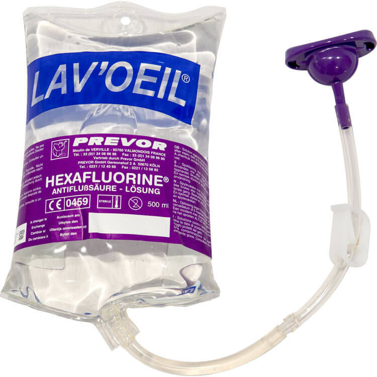 LPF Portable Eye Wash Pouch - 500ml from Diphex